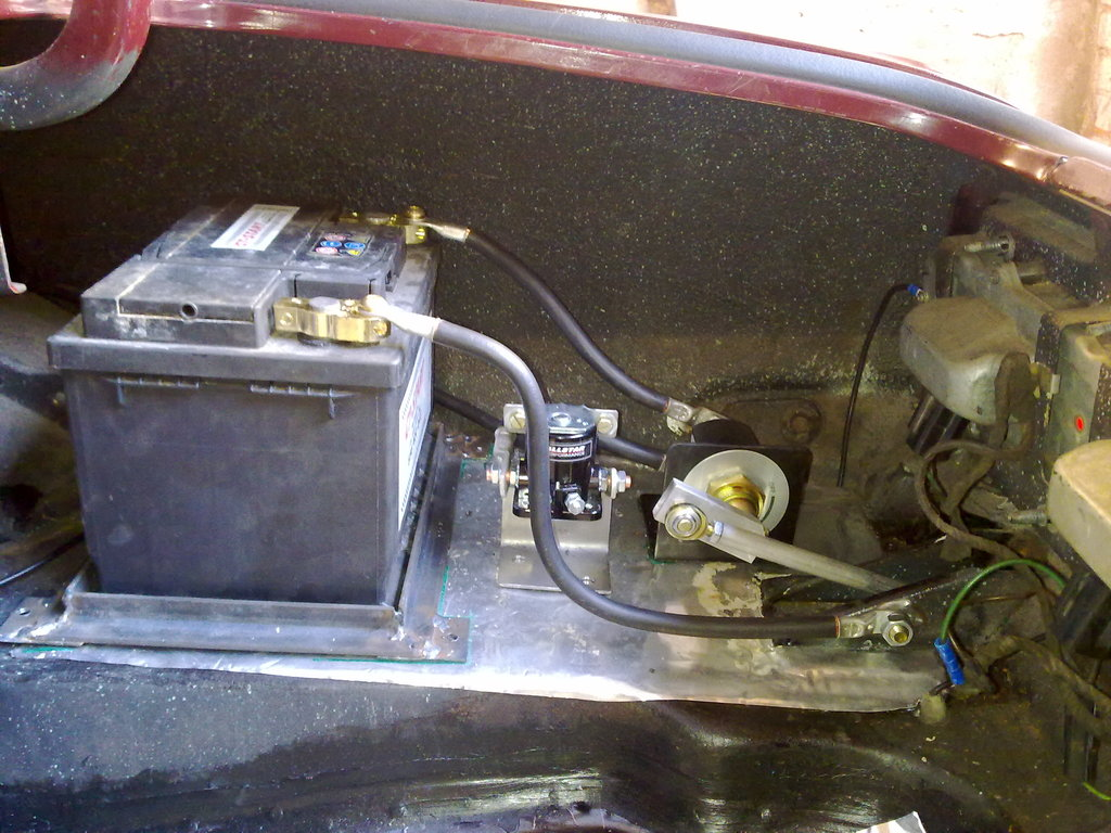 1st Gen Camaro Battery Relocation